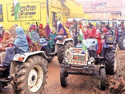 کسان احتجاج: لال قلعہ نہیں اب صرف دہلی کی سرحد وںپر نکلے گاٹریکٹر مارچ، بھارتیہ کسان یونین کا اعلان