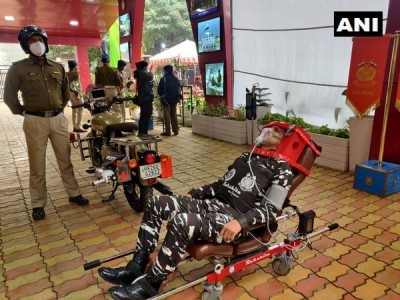 CRPF, DRDO Launches Bike Ambulance 'RAKSHITA'