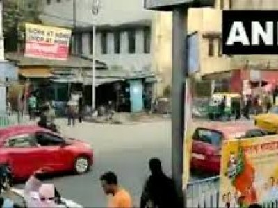 Tension in south Kolkata after stones hurled at BJP activists during roadshow