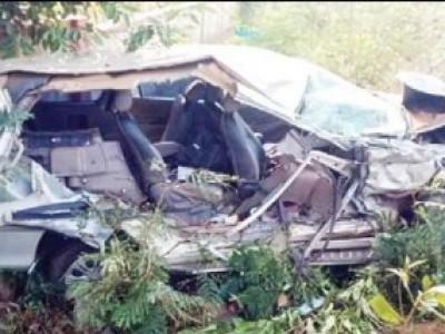 کمٹہ: بی جے پی لیڈر ونود پربھو کی کار اور لاری کےدرمیان ٹکر۔ ایک شخص زخمی