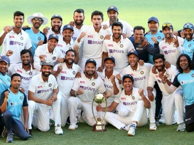 Youngsters script India's remarkable 3-wicket win in Brisbane