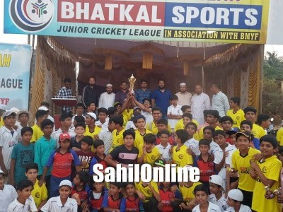 Bhatkal Sports Junior Cricket League concludes on a positive note