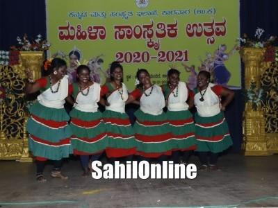 Uttara Kannada ZP president Jayshri Moger inaugurates Women's cultural festival in Karwar