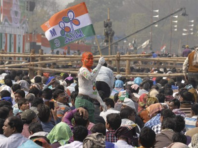 TMC distances itself from 'goli maaro' slogan raised by party supporters