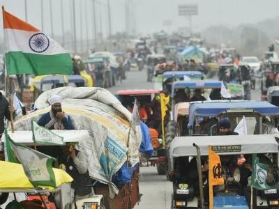 دہلی پولس نے 'ٹریکٹر ریلی' کی اجازت دینے سے کیا انکار، کسان ریلی نکالنے پر بضد