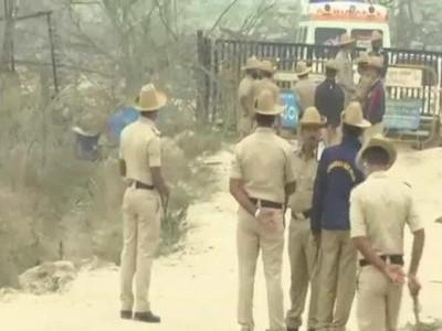 Shivamogga blast: Quary owner, dynamite supplier held