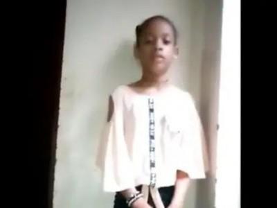 یمن میں ایک ٹانگ سے محروم بچی کا اقوام متحدہ کے ایلچی کو پیغام