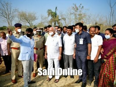 Karnataka CM Yediyurappa Shivamogga Explosion Site