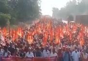 زرعی قوانین کے خلاف احتجاج: مہاراشٹرکے 21؍اضلاع سے کسان پہونچے ممبئی