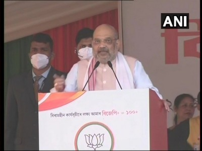 Give 5 more years to BJP and will make flood-free Assam: Amit Shah