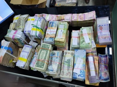 Foreign currency worth Rs 1.28 crore seized in Kerala's Thrissur