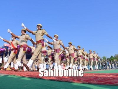 Udupi Patriotic Spirit mark 72nd Republic day Celebrations