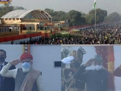 Nation celebrates 72nd Republic Day