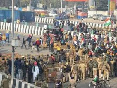 کسان تحریک: 'ٹریکٹر پریڈ' کے دوران تشدد کے بعد پنجاب اور ہریانہ میں ہائی الرٹ