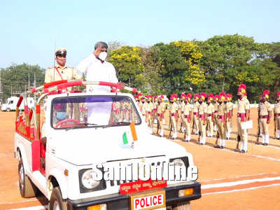 72nd Republic Day celebration at Dakshina Kannada