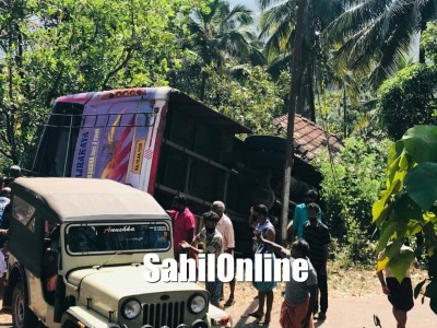 Bus carrying marriage party rams into a house in Kasargod: 7 dead, 7 injured