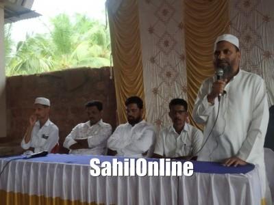 Markazi Jamatul Muslimeen, Tengingundi felicitates newly elected Heble Panchayat members in Bhatkal