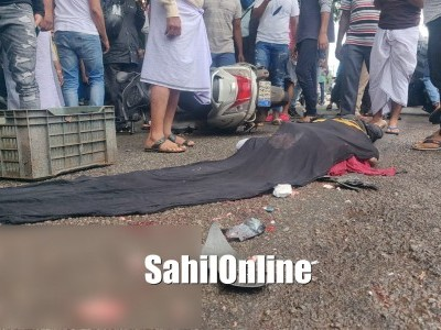 Scooter rider killed in horrific collision with Truck on Bhatkal NH-66