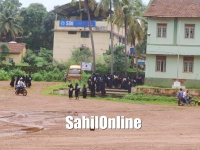 Bhatkal: Amid COVID-19 scare, SSLC examination begin with safety measures