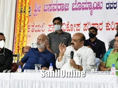 CM Basavaraj Bommai chairs review meeting on flood situation in Uttara Kannada, discusses relief work needed