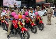 بنگلورو: خواتین کے تحفظ کیلئے ریلوے پو لیس کو13موٹر سائیکلیں فراہم