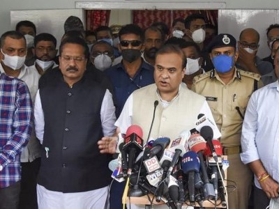 Border row: Assam CM, 4 senior cops, two admin officials booked by Mizoram Police