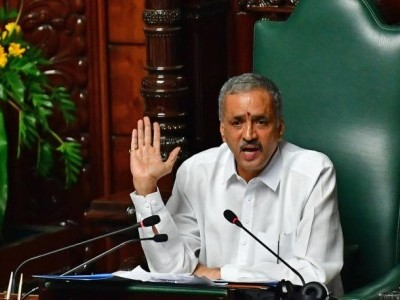 Karnataka Assembly Speaker blames govt, bureaucratic system for delay in ''e-Vidhan''