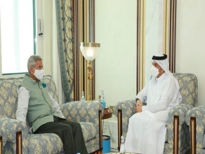 Jaishankar meets Qatari counterpart, discusses bilateral cooperation