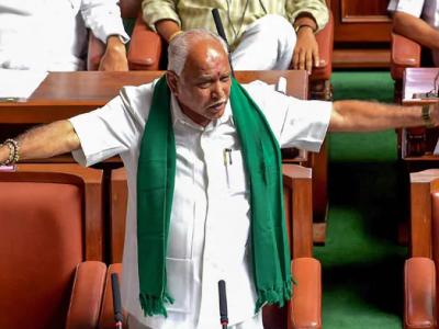 Bickering in Karnataka BJP: Cong, JD(S) demand dismissal of Yediyurappa Govt