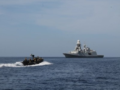 India, 3 EU nations kick off naval drill in Gulf of Aden