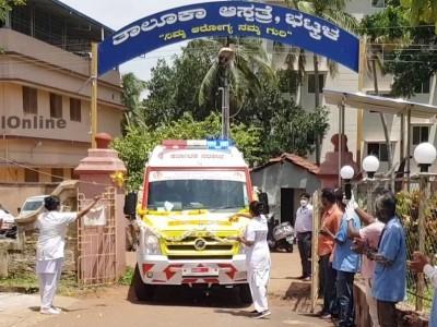 Bhatkal - Honnavar MLA Sunil Naik Inaugurates Two New Ambulance and donates to Bhatkal and Honnavar Govt hospitals