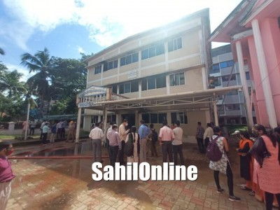 Karwar ZP building blaze: Documents and files burnt to ashes