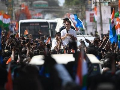 تمل ناڈو میں پی ایم مودی اور آر ایس ایس پر راہل گاندھی کا شدید حملہ