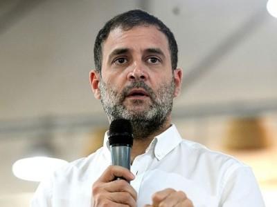 عوام ملک کی تباہی کے خلاف آواز اٹھائیں، راہل گاندھی کا مرکزی حکومت پر حملہ
