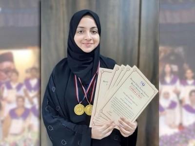 ممبئی: حافظ قرآن سہا آرمار نے یونیورسٹی میں شاندار کامیابی، 2 گولڈ میڈل سمیت 5؍اعزاز