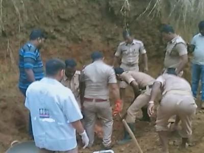 یلاپور تعلقہ میں کام کے دوران اچانک مٹی کھسکنے سے چار مزدور ہلاک