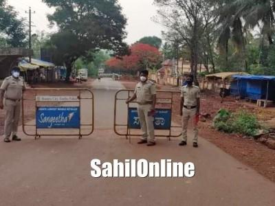 COVID-19: Kumta wears deserted look as strict lockdown begins