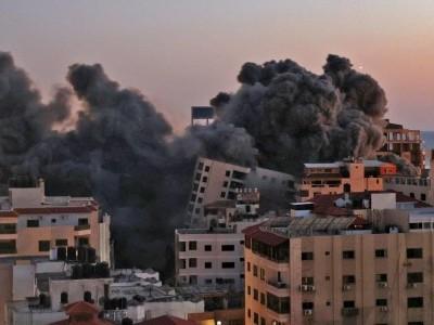 اسرائیل کی فلسطینیوں پر بمباری: شہدا کی تعداد 35 ہو گئی، 220 زخمی