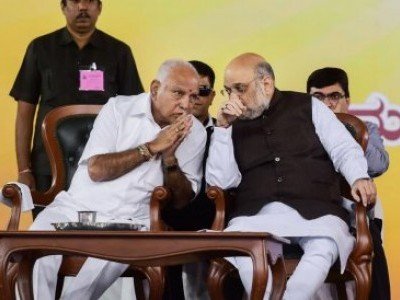 Meeting with Amit Shah not about change of leadership: K''taka Minister