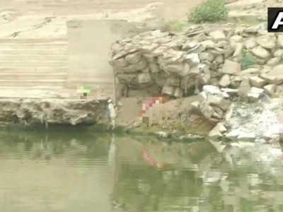 Bodies wash up on shores of river Ganga in UP's Ghazipur