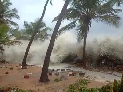 Cyclone Tauktae: Heavy showers in Bhatkal: IMD issues red alert