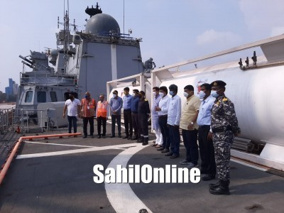 Mangaluru: India gets 54 tonnes of oxygen from Bahrain