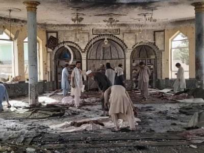 افغانستان میں نماز جمعہ کے دوران دھماکہ ، 100افراد جاں بحق،200 زخمی