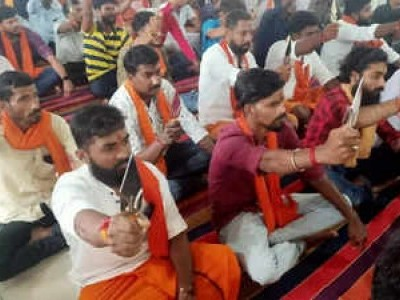 Looking into 'Trishula Deeksha' by Bajrang Dal activists, action if found any violation: Mangaluru Police Commissioner