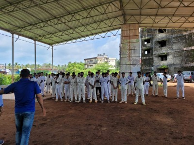 U-16 boys cricket team selection trials on Oct 20 in Bhatkal