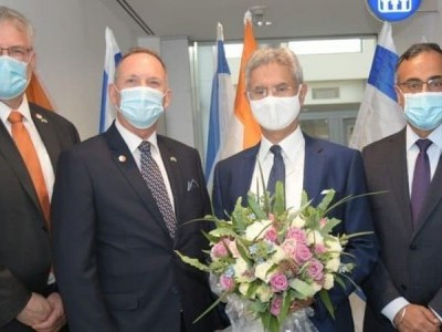 External Affairs Minister S Jaishankar in Israel for high-level talks to enrich strategic ties