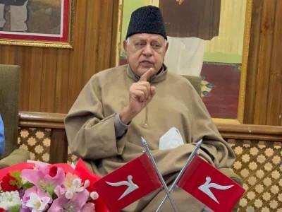 Kashmiris not involved in recent civilian killings, conspiracy to defame them: Farooq Abdullah