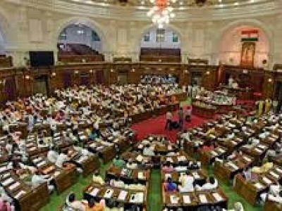 Deputy speaker election in UP Assembly: SP MLA Nitin Agarwal files nomination with BJP support
