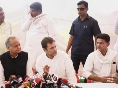 راہل گاندھی اورگہلوت کی میٹنگ، پائلٹ کا خیمہ سرگرم۔ راجستھان میں کابینہ میں توسیع اور  ردوبدل کے امکانات پر قیاس آرائیاں