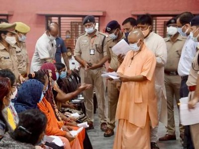 Previous UP governments encouraged rioters: Adityanath